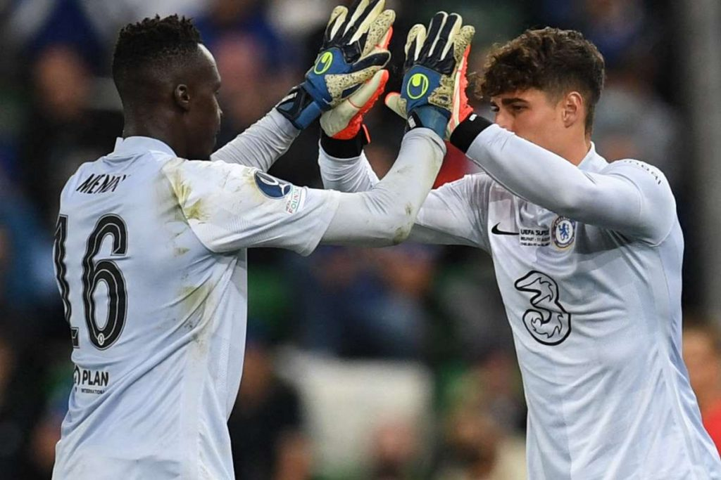 Kepa good relationship with Mendy